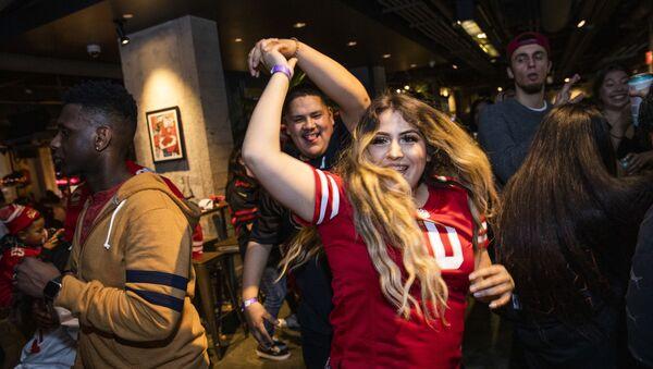 Super Bowl LIV watch party at SPIN San Francisco on February 2, 2020 in San Francisco, California - Sputnik International