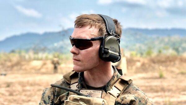 USMC Lance Cpl. Thomas Cade Martin - Sputnik International