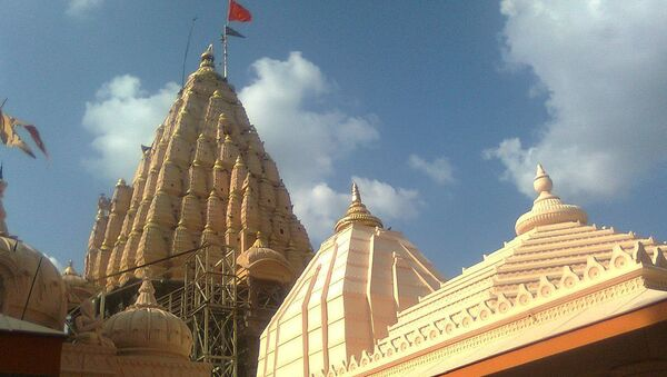 Shri Mahakaleshwar Temple Ujjain - Sputnik International