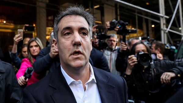 Michael Cohen, U.S. President Donald Trump's former lawyer, leaves his apartment to report to prison in Manhattan, New York, U.S., May 6, 2019 - Sputnik International