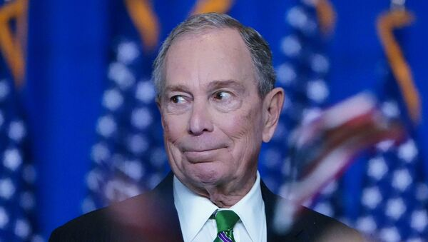 ormer Democratic U.S. presidential candidate Mike Bloomberg appears before supporters after ending his campaign for president in Manhattan in New York City, New York, U.S., March 4, 2020 - Sputnik International