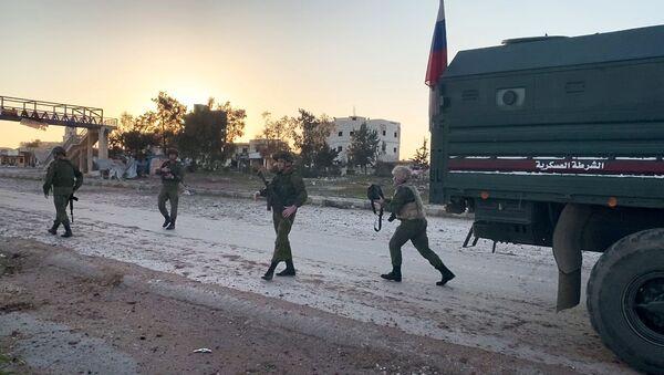 Russian military police in Idlib - Sputnik International
