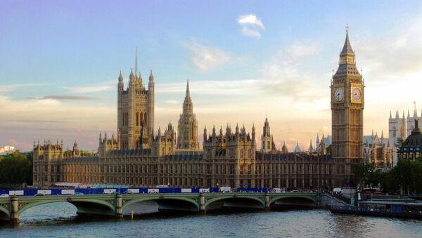 UK Parliament at Sunset - Sputnik International