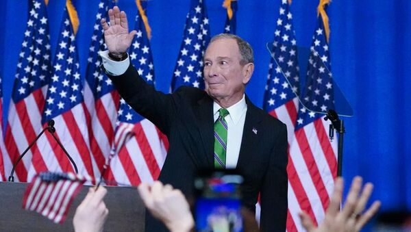 Former Democratic U.S. presidential candidate Mike Bloomberg appears at a news conference after ending his campaign for president in Manhattan in New York City, New York, U.S., March 4, 2020. - Sputnik International