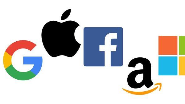 Google, Apple, Facebook, Amazon and Microsoft - Sputnik International