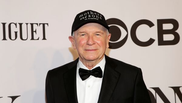 Playwright Terrence McNally arrives for the American Theatre Wing's 68th annual Tony Awards at Radio City Music Hall in New York, June 8, 2014. - Sputnik International