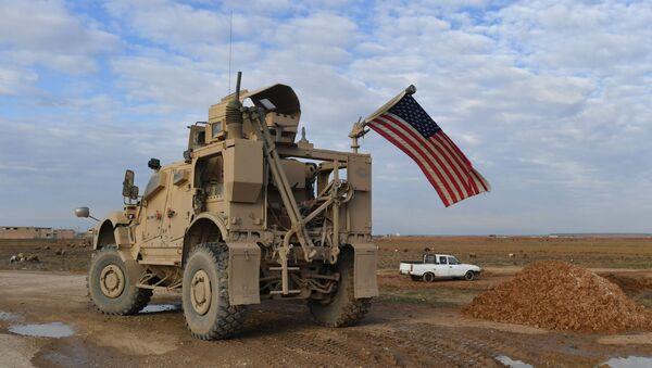 A US patrol in al-Hasakah province, file photo. - Sputnik International
