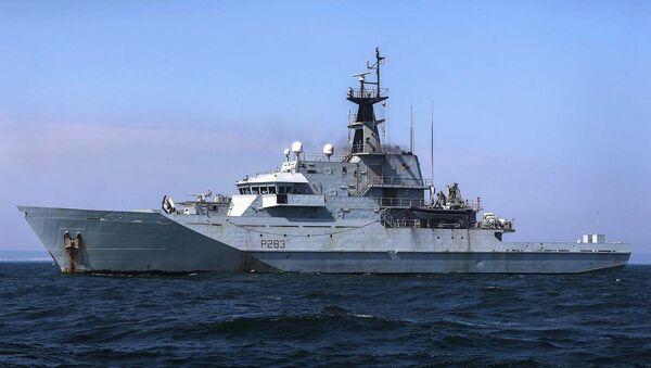 HMS Mersey. Handout released by the Royal Navy on March 26, 2020. - Sputnik International