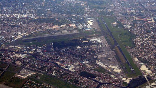 Aerial view of the Ninoy Aquino International Airport in Metro Manila, the Philippines - Sputnik International