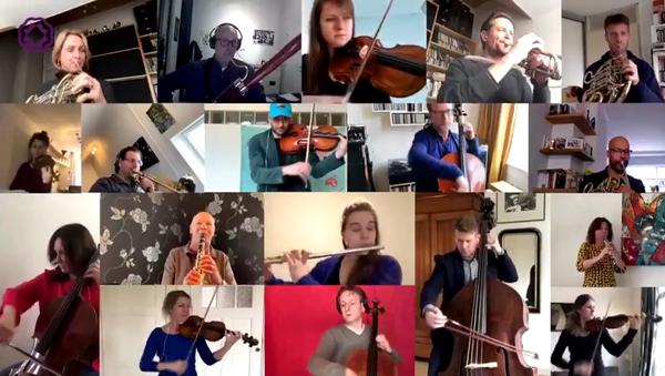 "Rotterdam Philharmonic - ""Ode to Joy"" in isolation - Sputnik International"