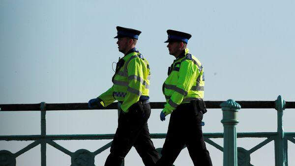 UK police in Brighton - Sputnik International