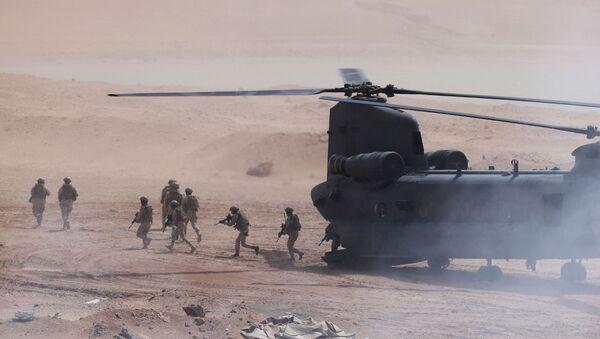 US-UAE military exercise in Urban Terrain facility in al-Hamra, United Arab Emirates - Sputnik International