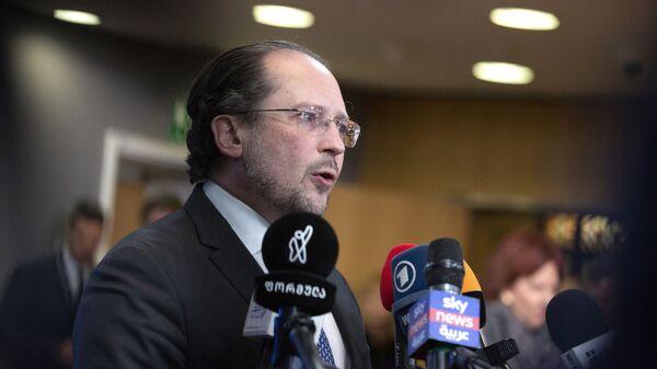 Austrian Foreign Minister Alexander Schallenberg in Brussels - Sputnik International