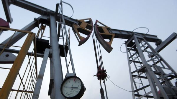 Oil pumpjack in the Republic of Tatarstan, Russia - Sputnik International