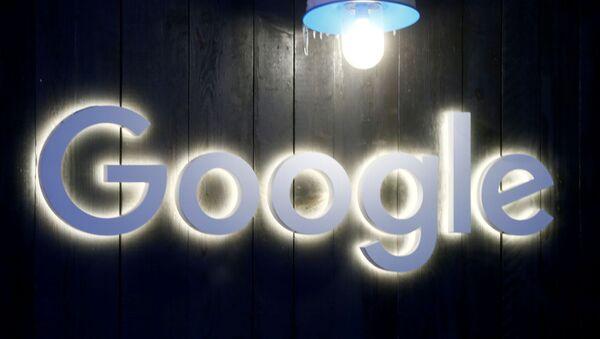 Logo of Google is seen in Davos - Sputnik International