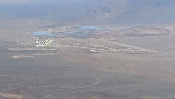 Zeifman's photo collection of the Nevada Test and Training Range also includes an image capturing the southern reaches of Area 51 - Sputnik International