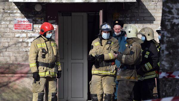 Gas explosion in the residential house in Orekhovo-Zuevo - Sputnik International
