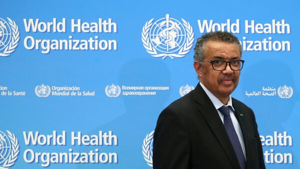FILE PHOTO: Director-General of the WHO Tedros Adhanom Ghebreyesus, attends a news conference on the coronavirus (COVID-2019) in Geneva, Switzerland February 24, 2020. REUTERS/Denis Balibouse/File Photo - Sputnik International