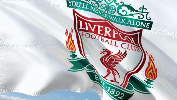 Liverpool football club flag - Sputnik International