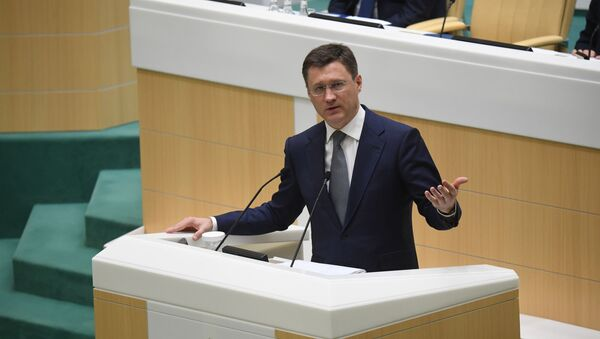 Russian Energy Minister Alexander Novak speaks during the meeting of the Federation Council of Russia, 11 March 2020 - Sputnik International