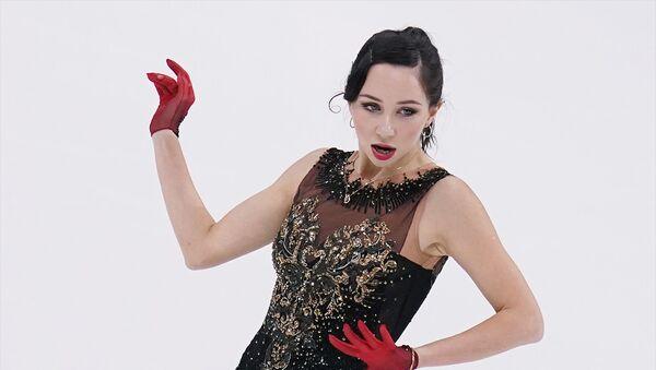 Elizaveta Tuktamysheva figure skating - Sputnik International