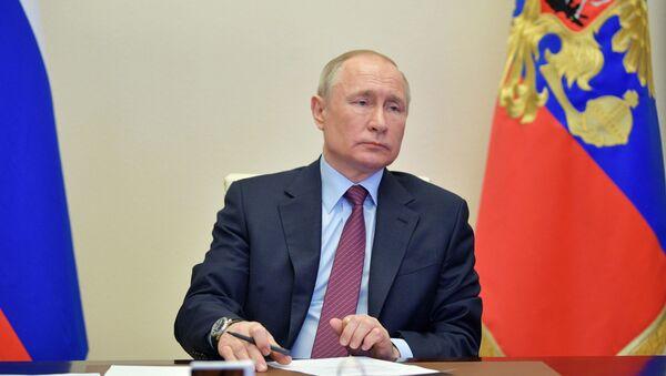 President Putin on the meeting dedicated to the space sphere development, 10 April 2020 - Sputnik International