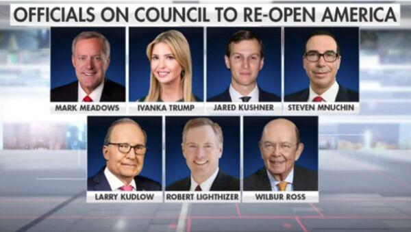 Trump names Ivanka, Jared Kushner as part of council to reopen America - Sputnik International