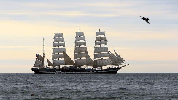 Kruzenshtern ship - Sputnik International