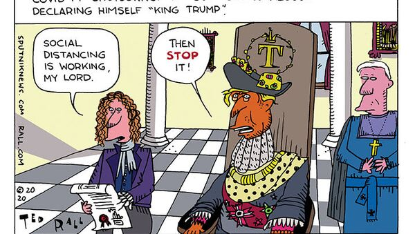 King vs. Empire State - Sputnik International