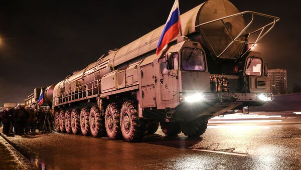 Moving Yars missile systems to Moscow - Sputnik International