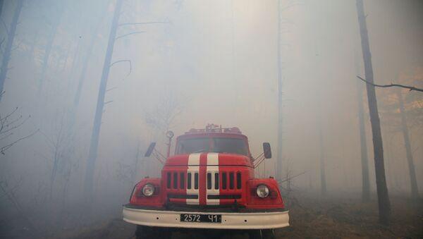 Chernobyl Fire - Sputnik International