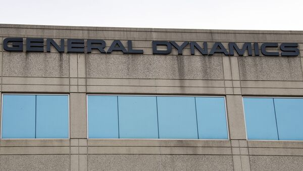 The General Dynamics logo is seen on a building in Annapolis Junction, Maryland, on 11 March 2019.  - Sputnik International