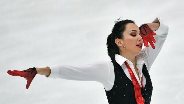 Elizaveta Tuktamysheva performs her free program in the women's competition at the Figure Skating Tournament in Espoo - Sputnik International