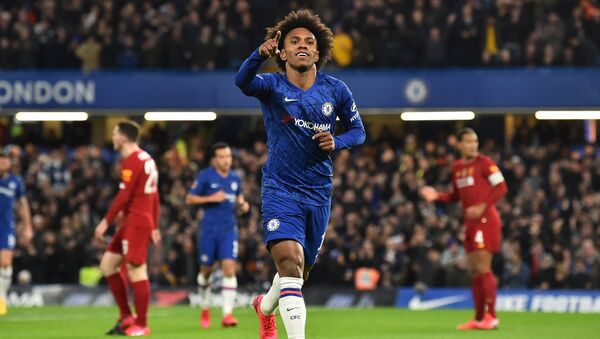 Willian, who is expected to leave Chelsea in the summer of 2020 - Sputnik International