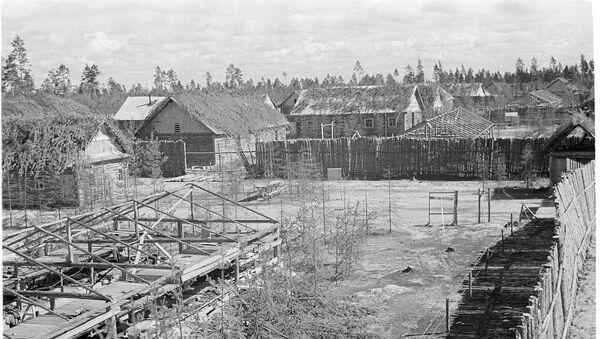 Finnish concentration camp at Vitele - Sputnik International