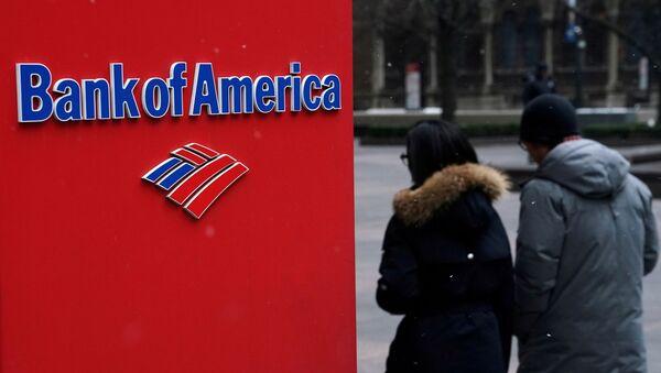 A Bank of America logo is pictured in the Manhattan borough of New York City, New York, U.S., January 30, 2019 - Sputnik International