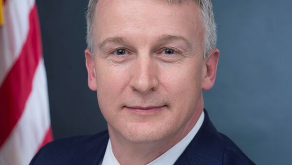 Rick Bright, recently ousted director of the Biomedical Advanced Research and Development Authority, or BARDA, is seen in his official government handout portrait photo from the U.S. Department of Health and Human Services taken in Washington, U.S. in 2017. - Sputnik International