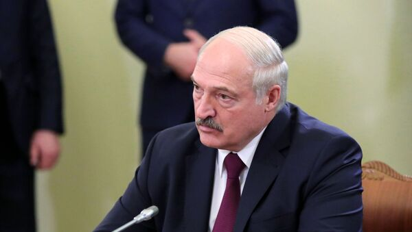 President Alexander Lukashenko  of Belarus during a working visit to Russia, December 2019. - Sputnik International