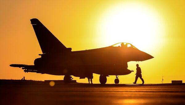 RAF Typhoon aircraft - Sputnik International
