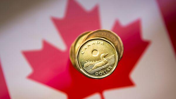 Canadian dollar coin - Sputnik International