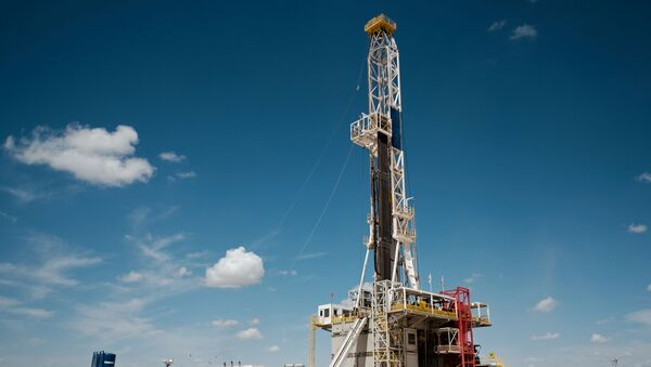 Chevron oil exploration drilling site near Midland, Texas - Sputnik International