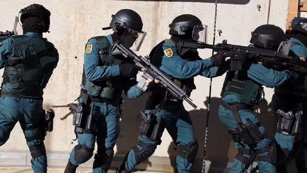Spanish Civil Guard     - Sputnik International