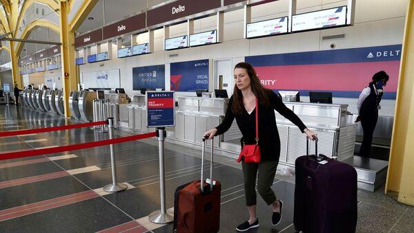 Reagan National airport in Washington - Sputnik International