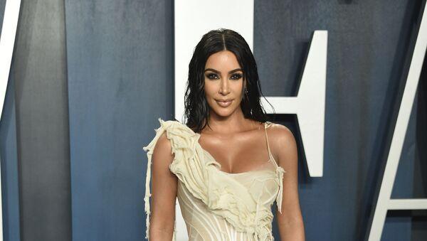 Kim Kardashian arrives at the Vanity Fair Oscar Party on 9 February 2020, in Beverly Hills, California - Sputnik International