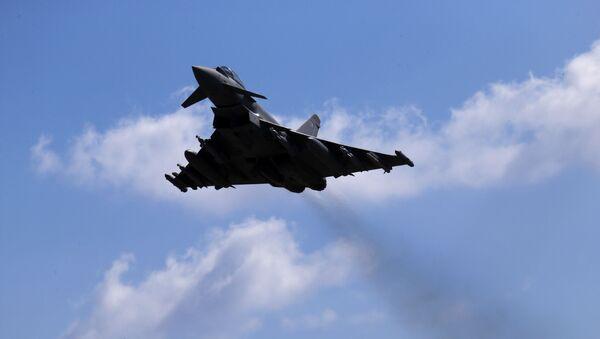RAF's Typhoon aircraft. File photo  - Sputnik International