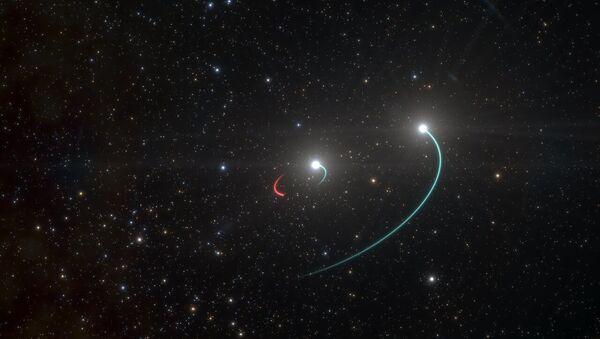 Black hole illustration by ESO - Sputnik International