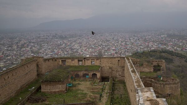 FILE - This April 5, 2016 file photo shows a view of Srinagar, the main city of Indian controlled Kashmir, as seen from the 18th century Hari Parbat Fort situated atop a hill - Sputnik International