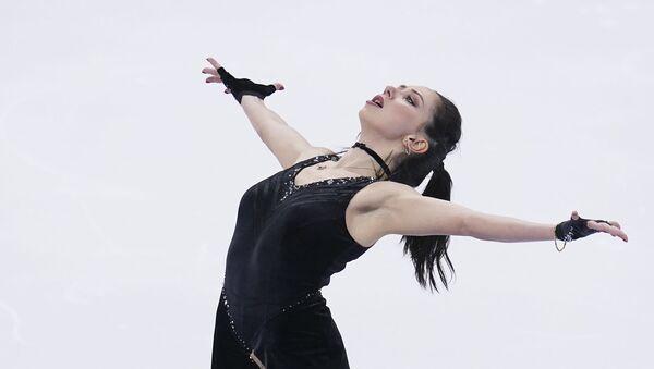 Russia's Elizaveta Tuktamysheva skates her short program in the women's competition at the Russian Figure Skating Championships, in Krasnoyarsk, Russia - Sputnik International