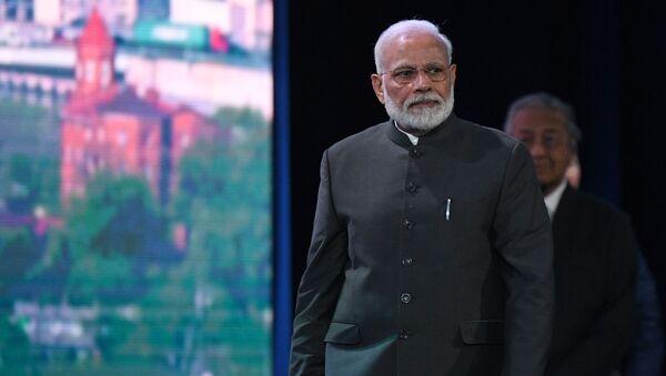 Indian Prime Minister Narendra Modi in Russia - Sputnik International