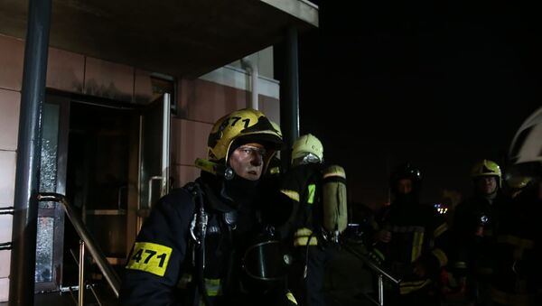 Fire in Moscow hospice, 13 April 2020 - Sputnik International